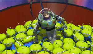 Buzz Lightyear teria sido roubado na primeira noite e Toy Story seria um filme beeeem diferente