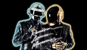 Adoro essas artes do Daft Punk